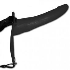 6 inch Slim Jim Black strap on